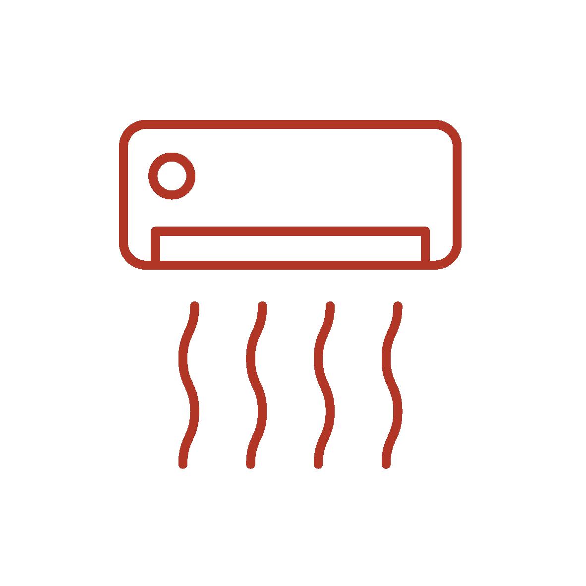 icona servizio climatizzazione